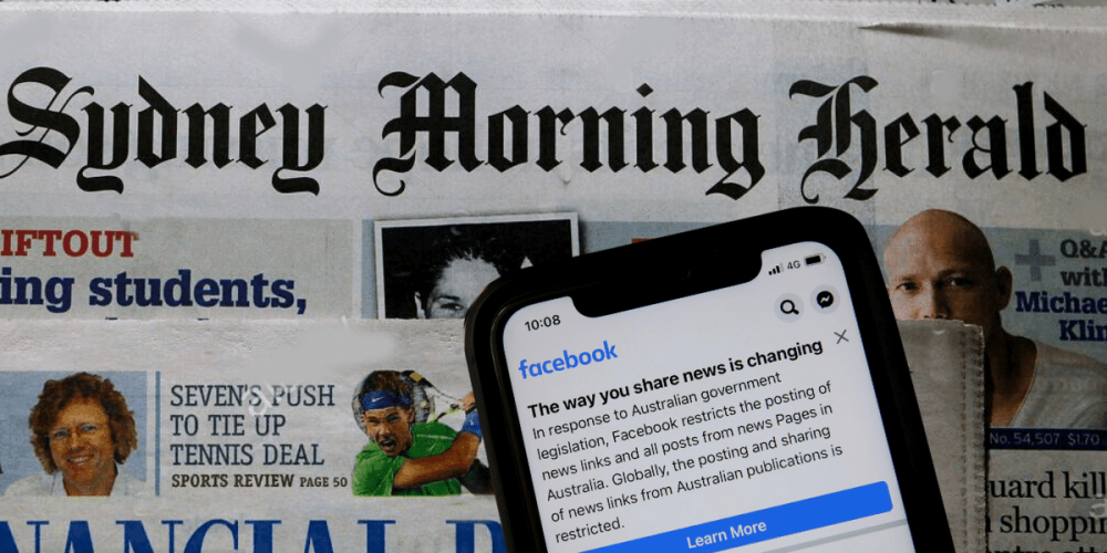 Facebook Almost Blocks News in Australia