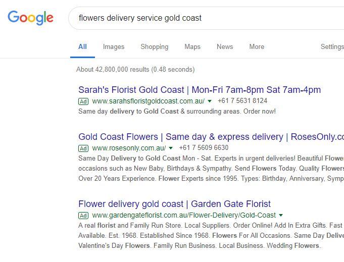 Google Ads on the Gold Coast